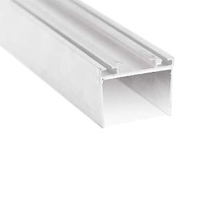 profil bas et haut aluminium panneau 40 mm h 35 mm l 1038 6090 soci t pas. Black Bedroom Furniture Sets. Home Design Ideas
