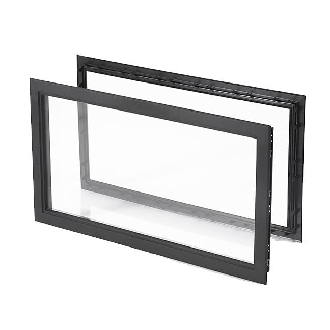 hublot rectangulaire plastique 680x373mm panneau 40 45mm acrylique 2400 90 soci t pas. Black Bedroom Furniture Sets. Home Design Ideas